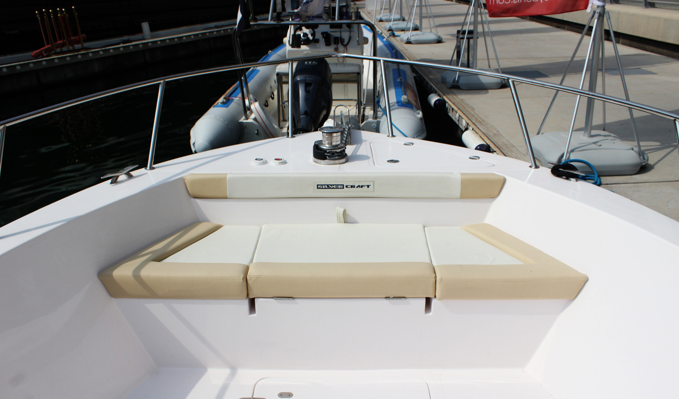 Silvecraft Front View Boat